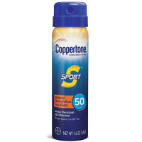 Coppertone SPORT Continuous Sunscreen Spray Broad Spectrum SPF 50 1.60 oz [041100005069]