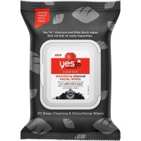Yes To Detoxifying Charcoal Facial Wipes, Tomatoes 30 ea [815921018153]