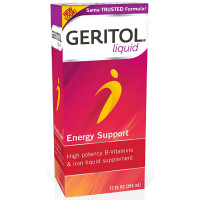 Geritol Liquid Energy Support B-Vitamins 12 oz [346017011128]