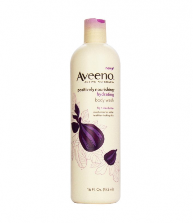 AVEENO Active Naturals Hydrating Body Wash, Fig + Shea Butter 16 oz [381371011315]
