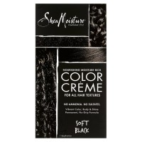 Shea Moisture Nourishing Hair Color Kit, Black 8 oz [764302200444]
