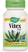 Nature's Way Vitex Fruit Capsules, 400 mg 100 ea [033674117507]