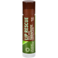 Desert Essence Lip Rescue Therapeutic with Tea Tree Oil 0.15 oz [718334220413]