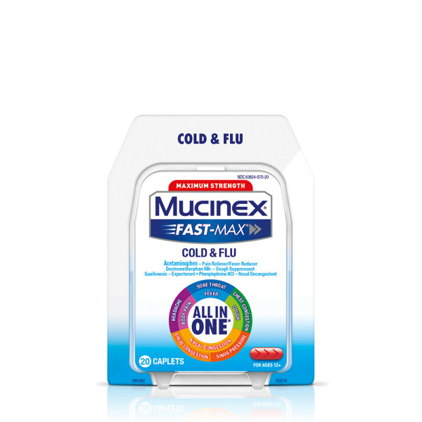 Mucinex Fast Max Severe Congestion Amp Cold Caplets