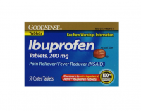 Good Sense Ibuprofen Pain Reliever/Fever Reducer Tablets 200 mg 50 ea [070030139971]