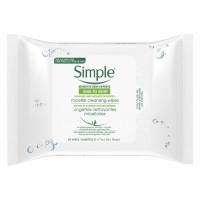 Simple Kind to Skin Micellar Cleansing Wipes 25 ct [087300526485]