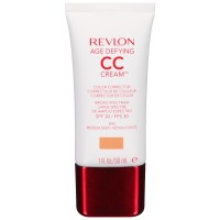 Revlon Age Defying CC Cream Color Corrector, Medium Deep [040] 1 oz [309975860047]