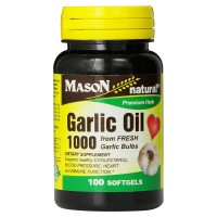 Mason Garlic Oil-1000 Softgels 100 ea [311845069917]