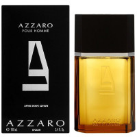 Azzaro Pour Homme After Shave Lotion Splash 3.4 oz [3351500982219]