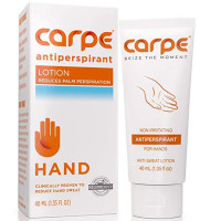 Carpe Antiperspirant Hand Lotion, A dermatologist-recommended, non-irritating, for hyperhidrosis 1 ea [638170999994]