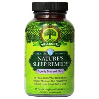 Well Roots Nature's Sleep Remedy Fast Acting Liquid Softgels 60 ea [710363581770]