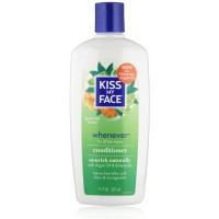 Kiss My Face Whenever Conditioner, Green Tea & Lime 11 oz [028367834670]