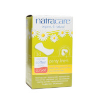Natracare Organic & Natural Curved Panty Liners 30 ea [782126003065]
