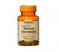 Sundown L-Theanine Stress Formula, Capsules 60 ea [030768526764]