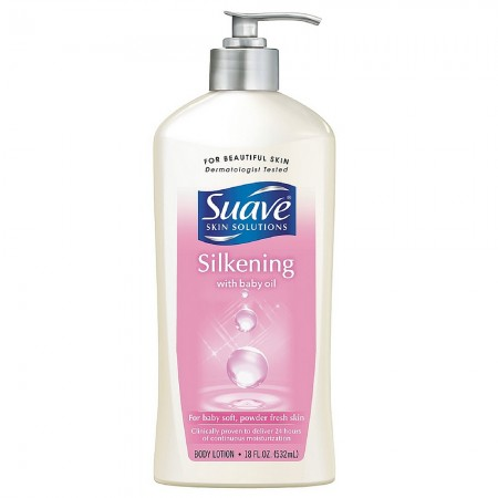 Suave Skin Solutions Silkening with Baby Oil Body Lotion 18 oz [045893072260]