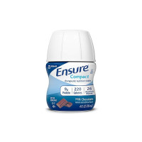 Ensure Compact Nutrition Shake, 9g of protein, Milk Chocolate, 4 oz,  [070074643625]