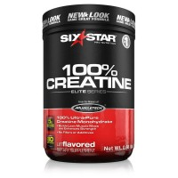 Six Star Pro Nutrition Elite Series 100% Creatine Powder, Unflavored 14.08 oz [631656703641]