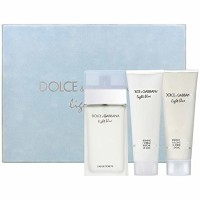 Dolce & Gabbana Light Blue Eau De Parfum 3 Piece, For Women  1 ea [3423473034247]