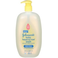JOHNSON'S Head-To-Toe Baby Wash 28 oz [381370031956]