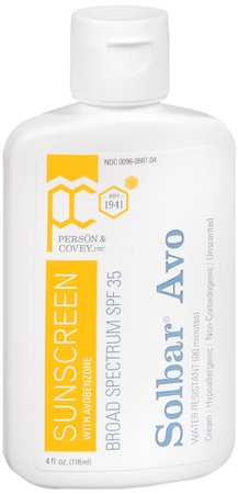 Solbar Avo Sunscreen Lotion SPF 32 4 oz [300960687045]