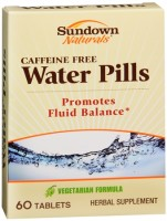 Sundown Naturals Natural Water Pills 60 Tablets [030768003746]