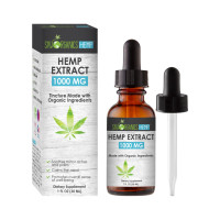Sky Organics Hemp Extract 1000 mg Tincture 1 oz [191567609529]
