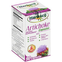 Herbacil Alcachofa Artichoke Dietary Supplement Capsules 90 ea [714706906749]
