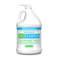 BioTemper Pain Relief Gel With Pump 128 oz