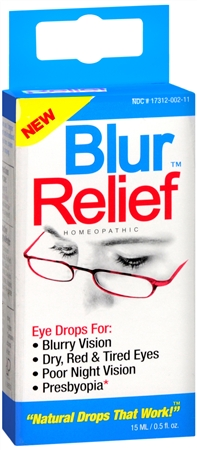 Blur Relief Homeopathic Eye Drops 0.50 oz [858961001020]