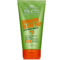 Garnier Fructis Style Smooth Blow Dry Anti Frizz Cream 5.1 oz [603084495481]