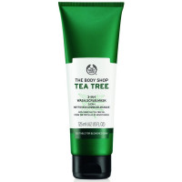 The Body Shop Tea Tree 3-in-1 Wash.Scrub.Mask, Made with Tea Tree Oil 4.2 oz [5028197501914]
