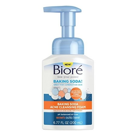 Biore Baking Soda Cleanser Foam Pump  6.77 oz [019100243972]