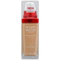 Revlon Age Defying Firming + Lifting Makeup, Natural Beige [35] 1 oz [309974531351]