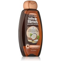 Garnier Whole Blends Smoothing Shampoo, Coconut Oil & Cocoa Butter Extracts 22 oz [603084459391]