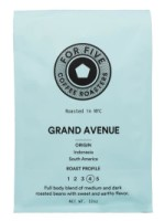 For Five Grand Ave Roast Whole Bean 12 oz [853473008024]