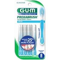 GUM Go-Betweens Proxabrush Cleaners Wide [3614] 8 ea [070942306539]