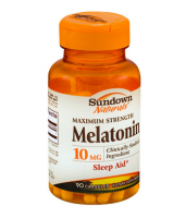 Sundown Naturals Melatonin 10 mg, Maximum Strength Tablets 90 ea [030768194840]