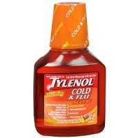 TYLENOL Cold & Flu Severe Warming Liquid Honey Lemon 8 oz [300450525086]