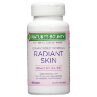 Nature's Bounty Optimal Solutions Radiant Skin Ceramocides Softgels 40 ea [074312652721]