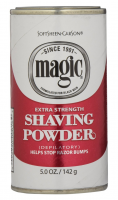 Magic Shaving Powder Red Extra Strength 5 oz [072790000164]