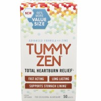 Tummy Zen  Total Heartburn Relief Caplets 50 ea [868782000027]