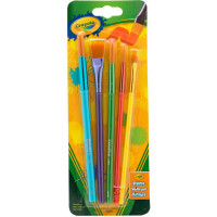Crayola Arts & Craft Brush Set, Assorted 1 ea [071662435066]