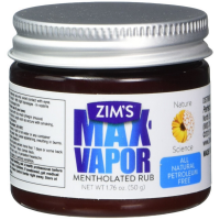 Zim's Max-Vapor Mentholated Rub 1.76 oz [781485252121]