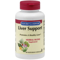 Nature's AnswerLiver Support Herbal Blend Vegetarian Capsules 90 ea [083000160899]