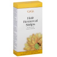 GiGi Hair Removal Strips for the Body 12 ea [073930066002]