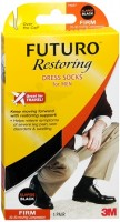 FUTURO Restoring Dress Socks For Men Firm XLarge Black 1 Pair [382250056168]