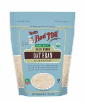 Bob's Red Mill Organic Oat Bran Hot Cereal 18 oz [039978019554]