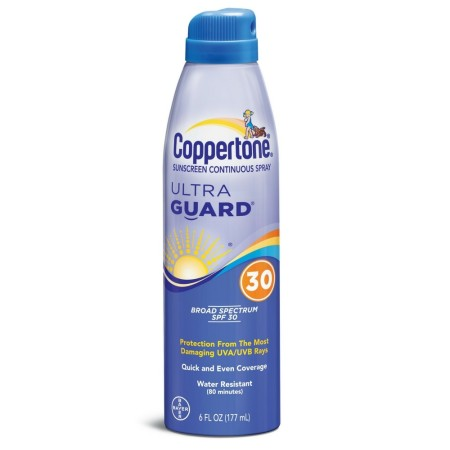 Coppertone UltraGuard Continuous Spray Sunscreen SPF 30 6 oz [041100001429]