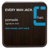 Every Man Jack High Shine Pomade, Soft Hold 2.65 oz [878639001121]