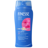 Finesse 2 in 1 Restore + Strengthen, Moisturizing Shampoo and Conditioner 24 oz [067990500521]